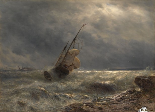 900_Ship in a Storm