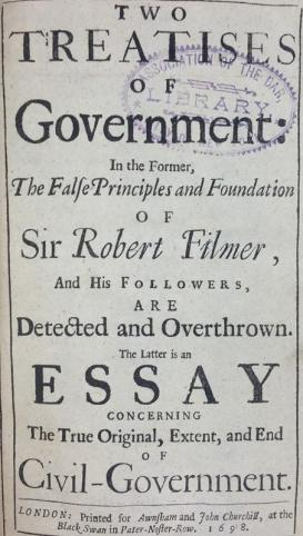 two-treatises-of-government-john-locke-first-edition-1698