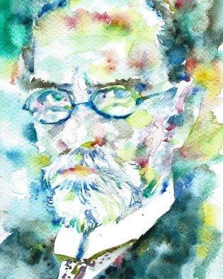 edmund-husserl-watercolor-portrait-fabrizio-cassetta